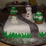 Gâteau hiver