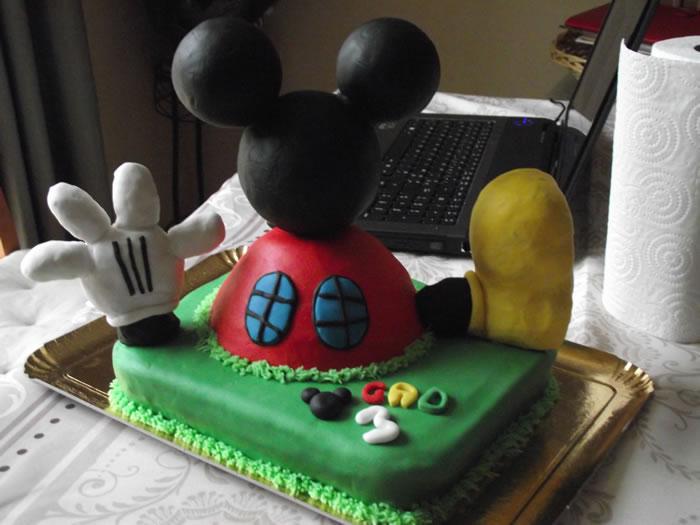 la maison de mickey | ma boîte à gâteau cake designer pâtissier
