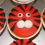 Cupcake Tigre