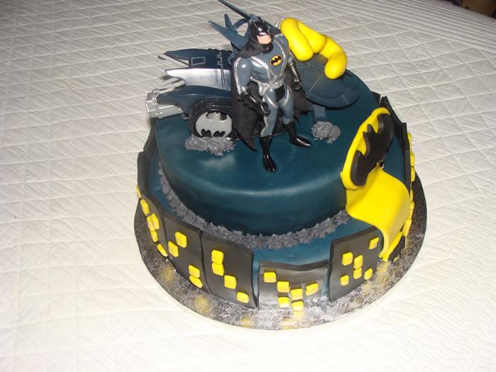 Un gâteau Batman pour les 3 ans de Noah