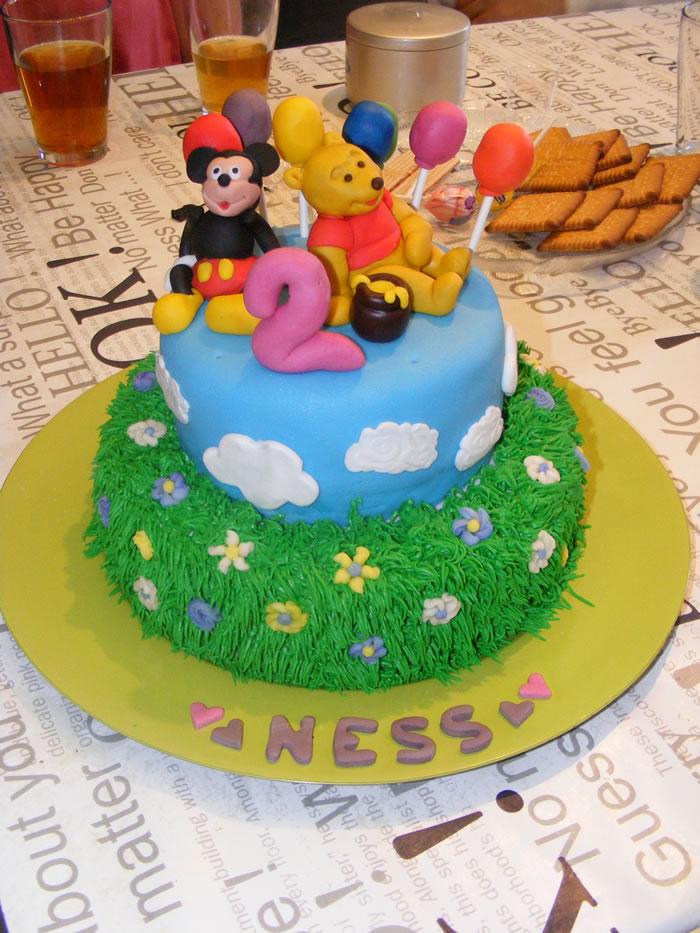 Un Gâteau Disney pour Ness