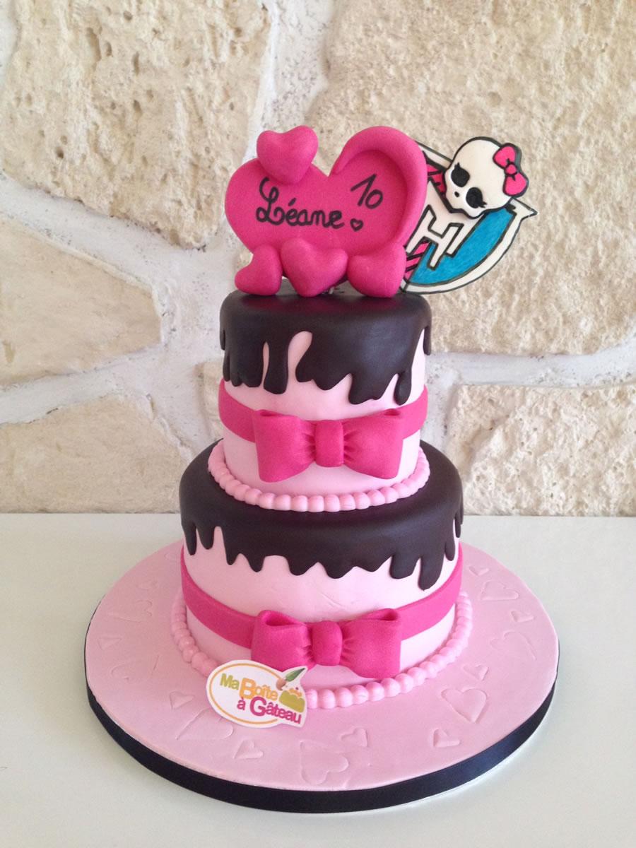 Bien-aimé Monster High   Ma Boîte à Gâteau Cake Designer Pâtissier XF35