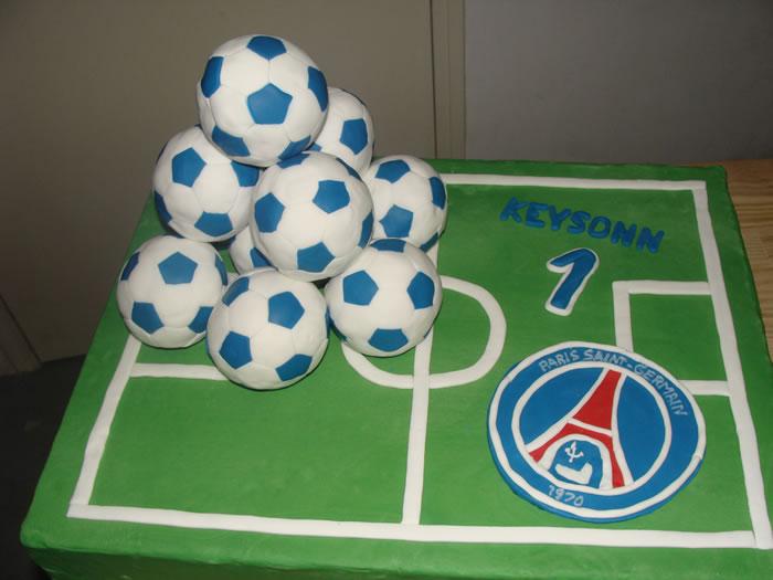 Ballon De Foot Cake Design