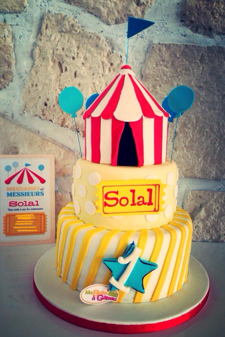 anniversaire une journée au cirque